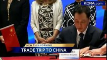 Gov. Brown rides China's high-speed rail