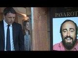 Renzi visita, a Modena, la Casa Museo Luciano Pavarotti (03.05.15)