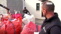 Brest. Geode environnement  collecte les déchets des chantiers de construction