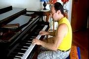 VOCÊ É LINDA DEMAIS caetano veloso/ famous brazilian bossa songs/ piano solo internacional lyrics