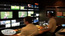Behind the scenes in the ESPN truck that produces Major League Lacrosse