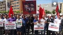 Kosovo : manifestation pour la libération des combattants retenus en ARYM