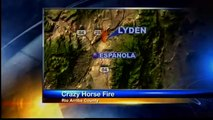 Fire chief arrested at grass fire sues