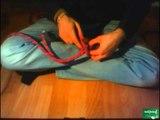 Faire un noeud de pêcheur double pour relier deux cordes