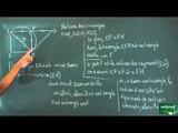 139 / Triangle rectangle - Cercle circonscrit / Utilisation des théorèmes du cours (24)