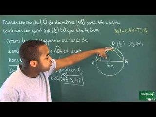 222 / Trigonométrie / Utilisation de la trigonométrie (15)