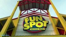 White Lightning On-ride Back Seat (HD POV) Fun Spot America Orlando