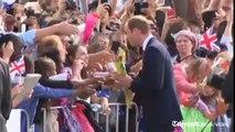 Royal Tour: Duke and Duchess unveil Prince George plaza