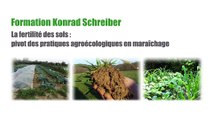 Formation MSV K Schreiber partie 11 Thèmes : Matière organique du sol, travail du sol et minéralisation. Amendements calcaire et souffre