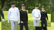 Niall Horan Plays Golf with Rory McIlroy