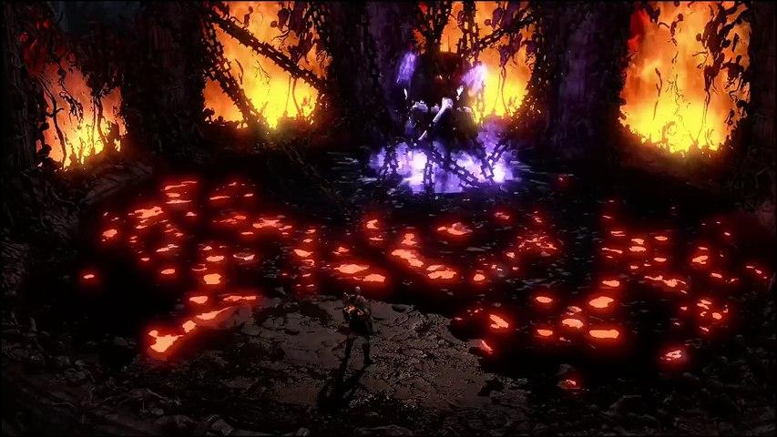 God Of War 3 Remastered - Kratos affronte Hades