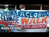 'Climate activists' lalakad mula Maynila hanggang Tacloban