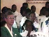 The 1995  Launch of HANDS ACROSS JAMAICA Newscast