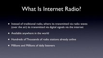 Internet Radio Explained, How To Setup a Radio station and Web Radio Directories