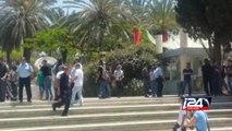 نشطاء اليمين يعتدون على نشاط الطلاب العرب في جامعة تل ابيب احياء لذكرى النكبة