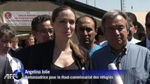 """Turquie: Jolie """"impressionnée"""" des conditions d'accueil des réfugiés syriens"""