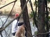 Bigfoot Stalks Unsuspecting Campers