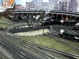 N-scale trains - Great Northern yard - Big Train Show 2009
