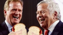 Roger Goodell and Robert Kraft Hug It Out, Patriots Drop Appeal