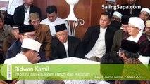 [KEREN] Nasehat Pernikahan dari Ridwan Kamil Pada Acara Pernikahan Putri Aa Gym