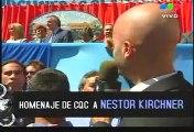 Homenaje de CQC a Nestor Kirchner 3/5 /CQC Tribute to Nestor Kirchner 3/5