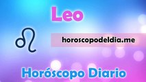 Horóscopo del día - Leo - 21/05/2015