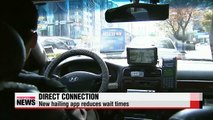 Taxi-hailing apps provide easier rides for all