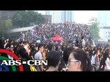 Pinoy helpers sa Hong Kong, iwas sa protesta