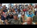 Lavoratori edili tra crisi e contratto