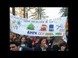 MANIFESTACION CONTRA LOS RECORTES EN  EDUCACION PUBLICA (Alicante 21 enero 2012)