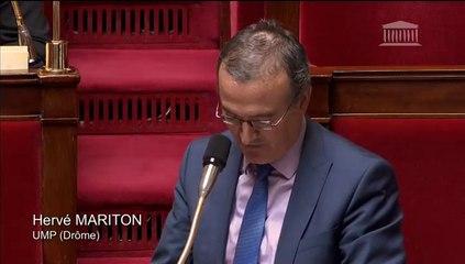 Hervé Mariton - Réforme des collèges