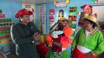 Przedszkole na jeziorze Titicaca w Peru