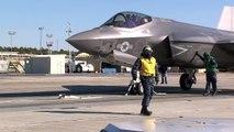 Un F-35 catapulté par la force électromagnétique