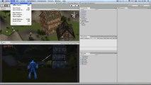 Créer un jeu avec Unity3D RPG Finaliser le jeu (Menu) 12