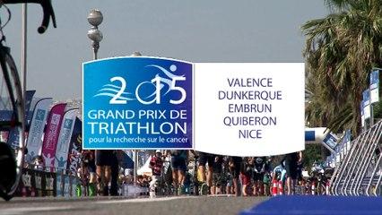 #GPFFTRI 2015 - Bande annonce du Grand Prix de Triathlon pour la recherche sur le cancer 2015