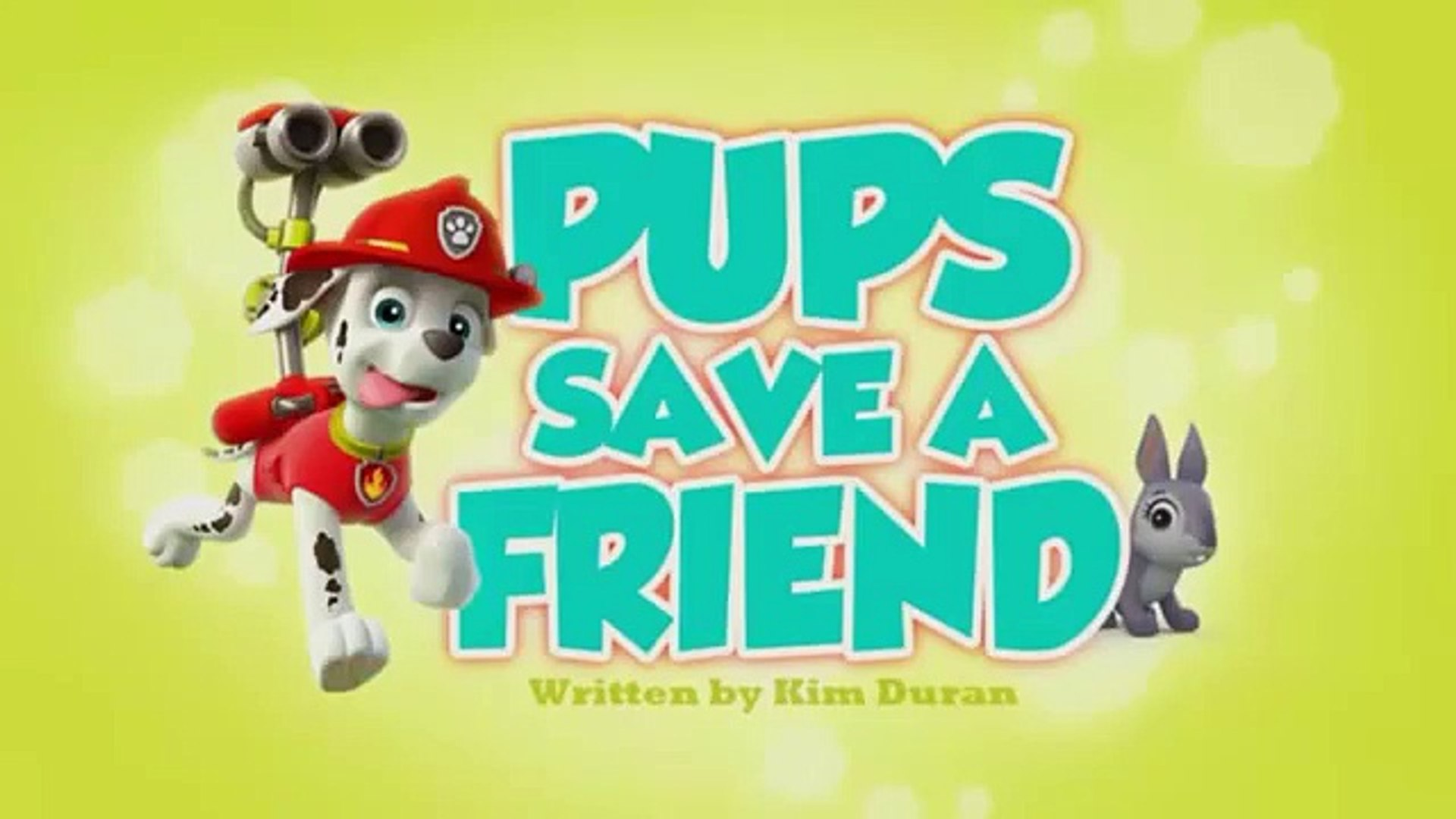 paw patrol episodes Pups save a Friend part 1 -