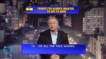 David Letterman's Final Broadcast Was As Subversive, As Punk Rock, As Ever