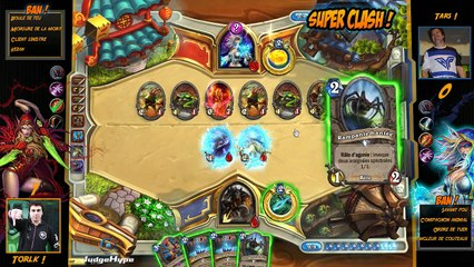 SuperClash HearthStone : Torlk vs Tars