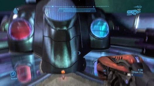 Halo: Reach - Flame Effect, Robot Arm, Emile's Helmet (Gold Visor) and  Tacpad