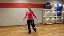 Hoop Dance Tutorial: Waist Hooping Forward Stance