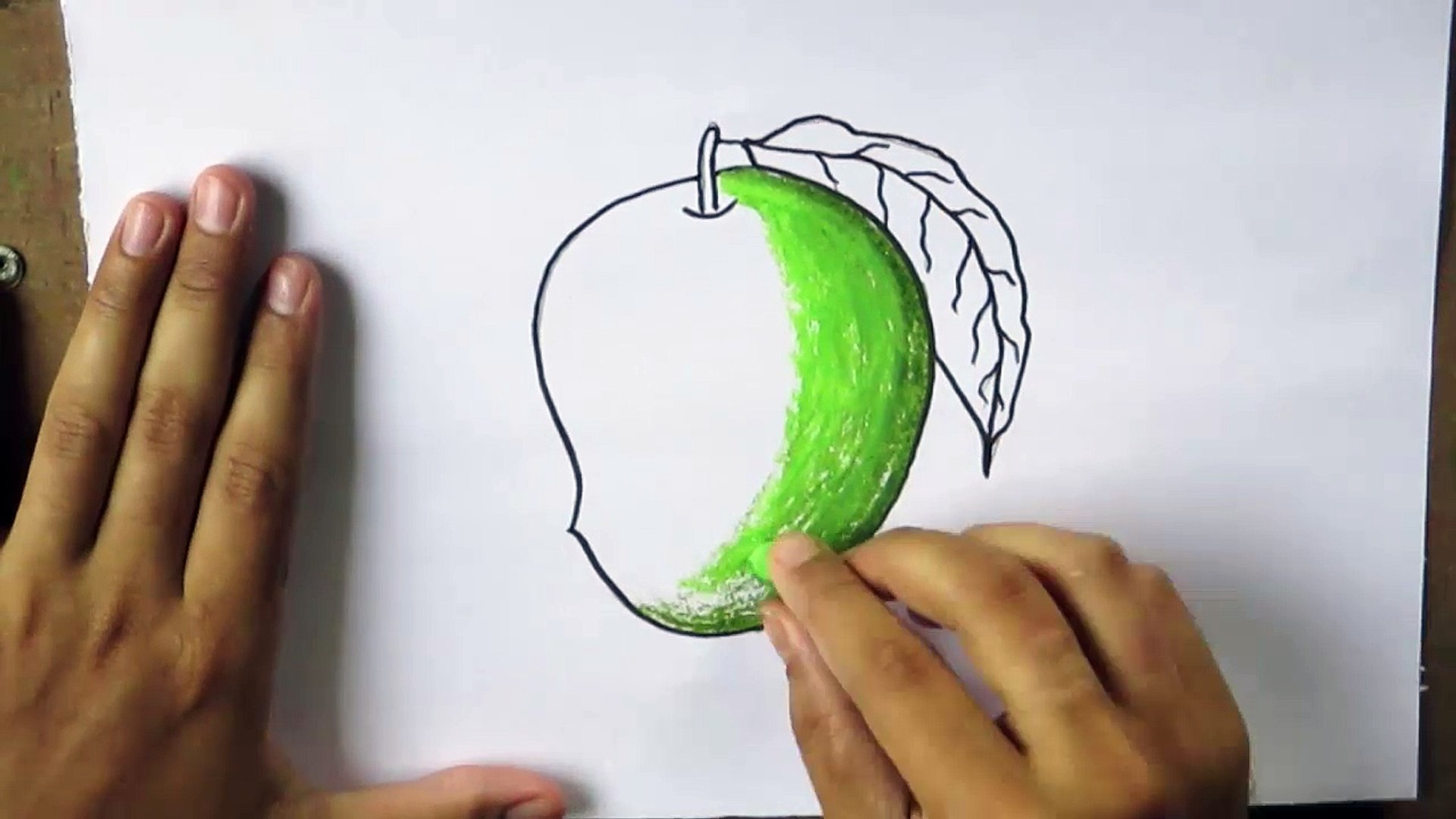 How To Draw A Mango Video Dailymotion