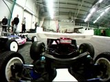 Team Associated RC10B4 Factory Team onboard action cam