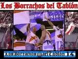 RIVER CORRE A BOCA EN MAR DEL PLATA. LOS BORRACHOS DEL TABLON - LA 12