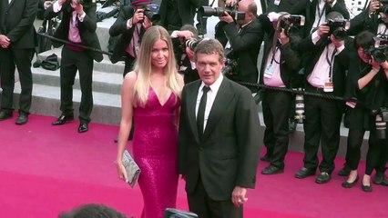 Antonio Banderas et Nicole Kimpel à Cannes - Festival de Cannes 2015