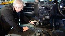 Fitting Exmoor Trim 110 carpet set to Land Rover Defender