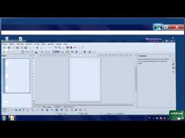 1 - Présentation des applications de LibreOffice