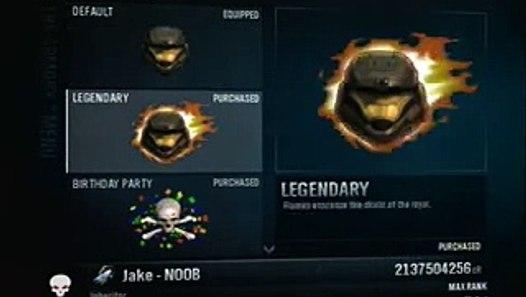 Halo Reach Rank Hack All Armour Haunted
