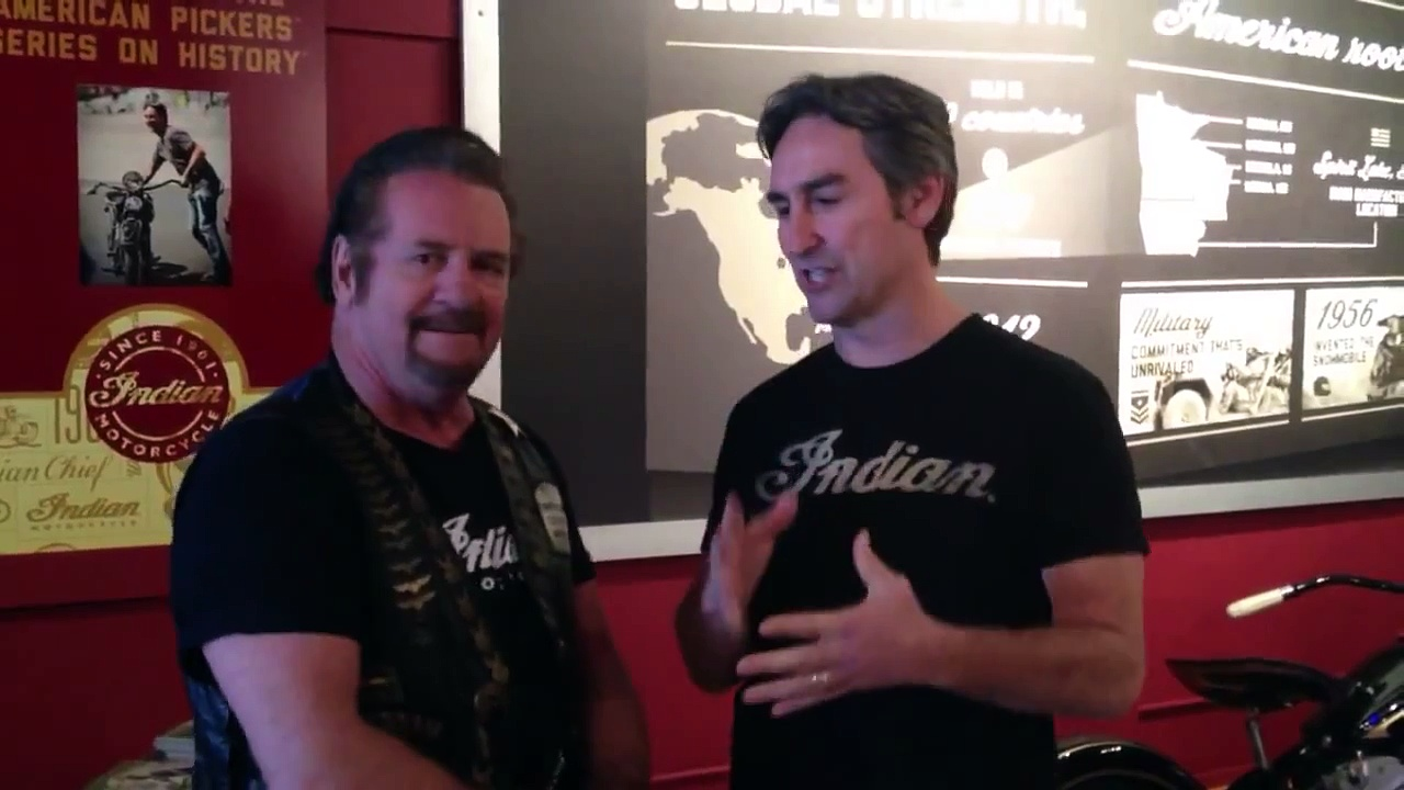 Mike Wolfe – Indian Motorcycles talks to DaytonaBikeWeek.com