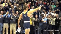 Penn State Wrestling - Quentin Wright Wins 100th Match