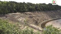Lac-de-Guerledan: Vide le Lac c'est la Lune - Bretagne Télé